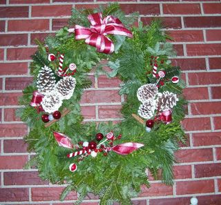 12-9 peppermint wreath
