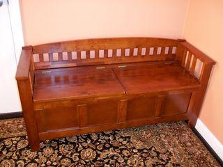 11-11 storage bench
