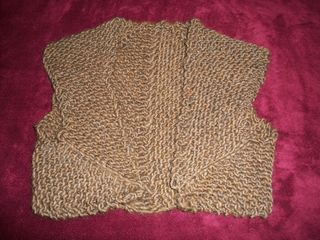 2-8 brown shrug