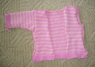 6-29 pink sweater