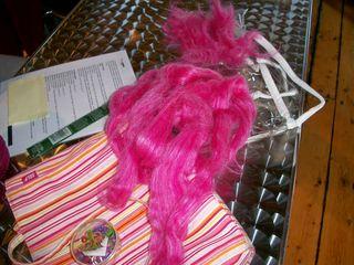 2-12 pink roving