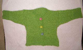 2-18 green garter cardi