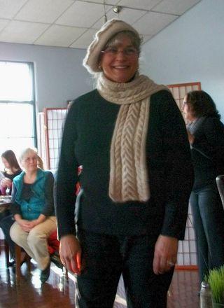 FS claudia beret-scarf
