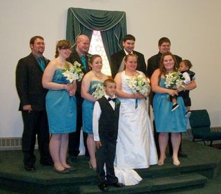 6-10 wedding party