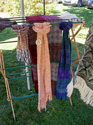 10-29 woven scarves