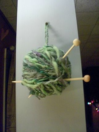 12-6 yarn ornament