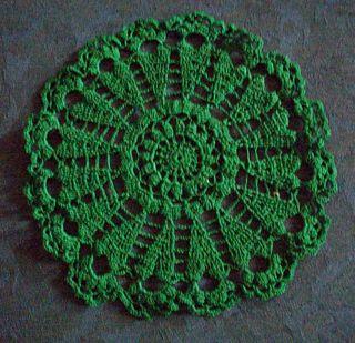 12-21 green doily