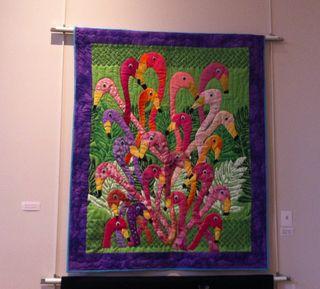 7-19 flamingo quilt