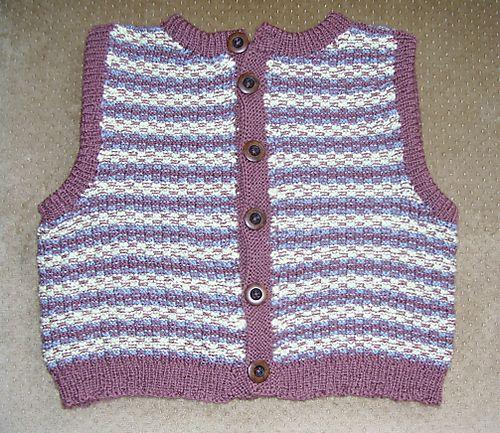 Dale baby vest