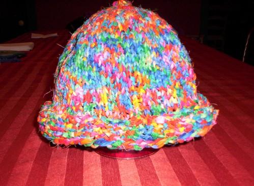 Fabric strip hat